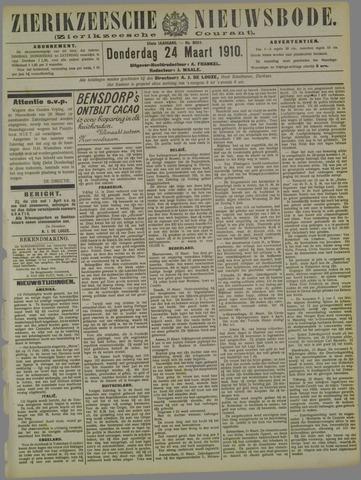 Zierikzeesche Nieuwsbode 1910-03-24