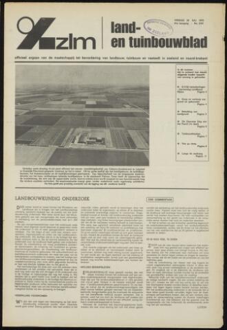 Zeeuwsch landbouwblad ... ZLM land- en tuinbouwblad 1973-07-20