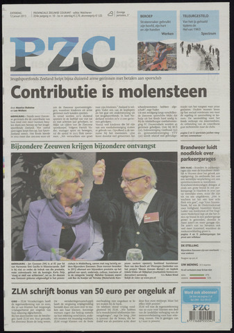 Provinciale Zeeuwse Courant 2013-01-12