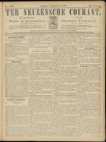 Ter Neuzensche Courant. Algemeen Nieuws- en Advertentieblad voor Zeeuwsch-Vlaanderen / Neuzensche Courant ... (idem) / (Algemeen) nieuws en advertentieblad voor Zeeuwsch-Vlaanderen 1901-09-07