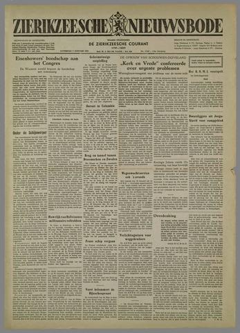 Zierikzeesche Nieuwsbode 1954-01-09