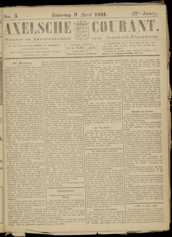 Axelsche Courant 1921-04-09