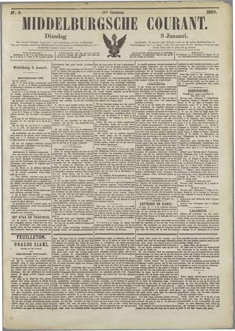 Middelburgsche Courant 1899-01-03