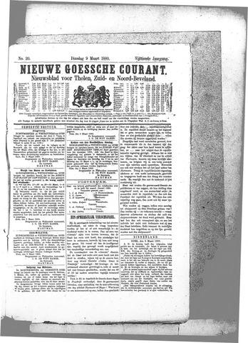 Nieuwe Goessche Courant 1880-03-09