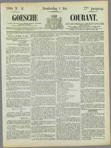 Goessche Courant 1890-05-01