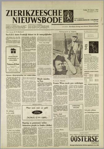 Zierikzeesche Nieuwsbode 1965-10-29