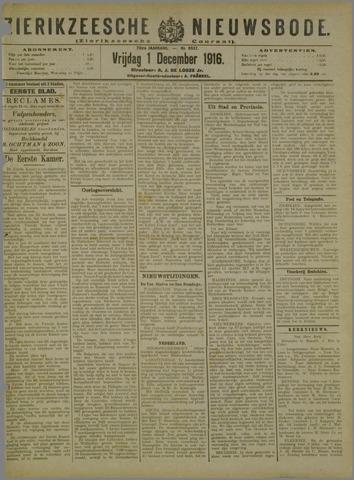 Zierikzeesche Nieuwsbode 1916-12-01