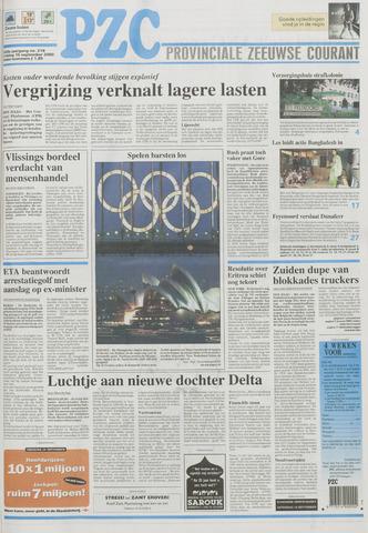 Provinciale Zeeuwse Courant 2000-09-15