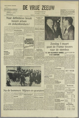 de Vrije Zeeuw 1967-03-02