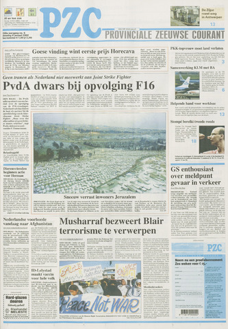 Provinciale Zeeuwse Courant 2002-01-08