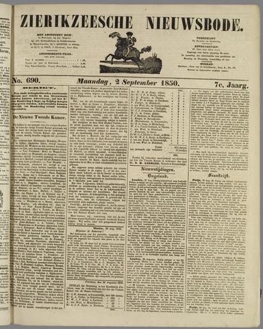 Zierikzeesche Nieuwsbode 1850-09-02