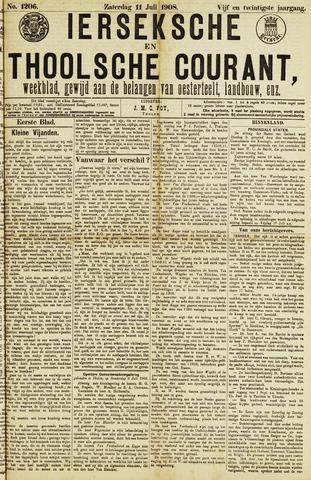 Ierseksche en Thoolsche Courant 1908-07-11
