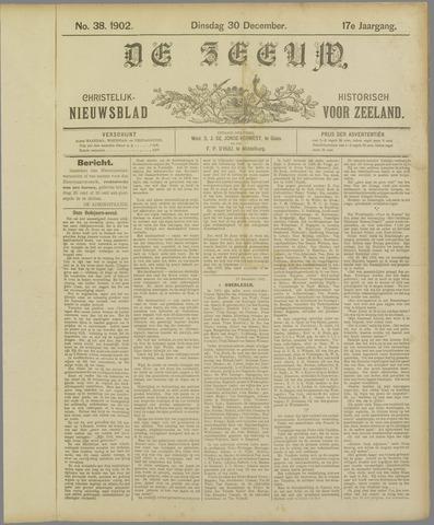 De Zeeuw. Christelijk-historisch nieuwsblad voor Zeeland 1902-12-30