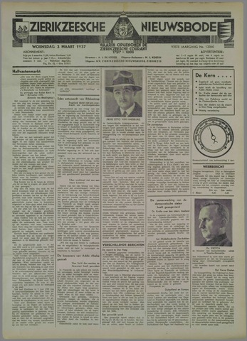 Zierikzeesche Nieuwsbode 1937-03-03