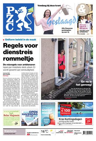 Provinciale Zeeuwse Courant 2016-06-18