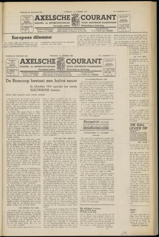 Axelsche Courant 1952-10-15