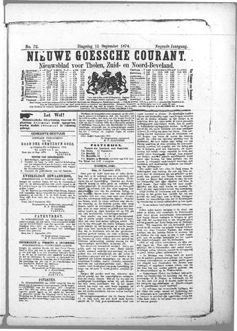 Nieuwe Goessche Courant 1874-09-15