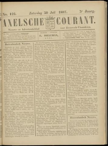 Axelsche Courant 1887-07-30
