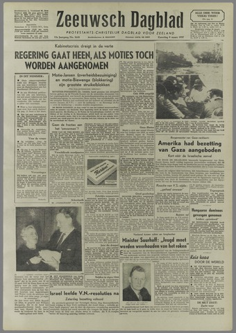 Zeeuwsch Dagblad 1957-03-09