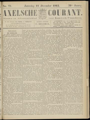 Axelsche Courant 1915-12-11