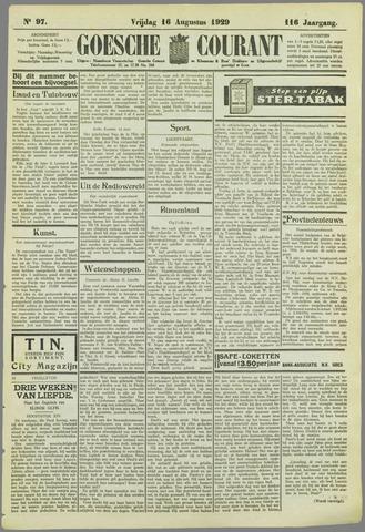 Goessche Courant 1929-08-16