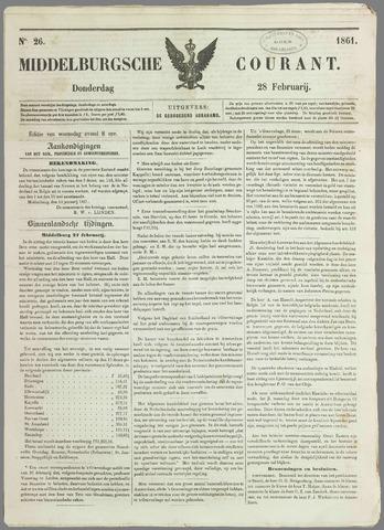 Middelburgsche Courant 1861-02-28