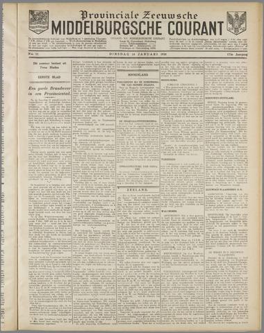 Middelburgsche Courant 1930-01-14