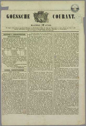 Goessche Courant 1852-07-12