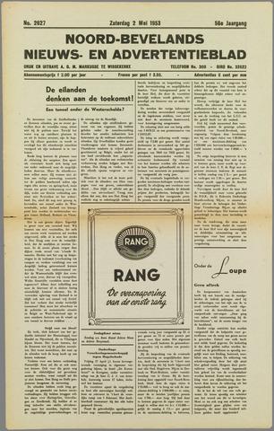 Noord-Bevelands Nieuws- en advertentieblad 1953-05-02