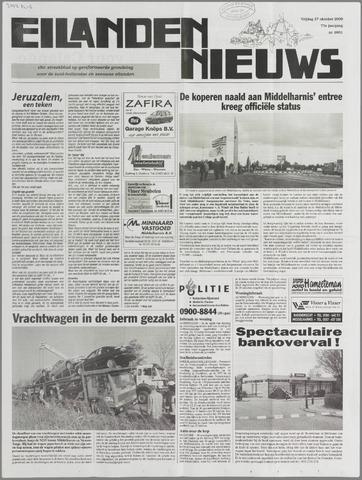 Eilanden-nieuws. Christelijk streekblad op gereformeerde grondslag 2000-10-27