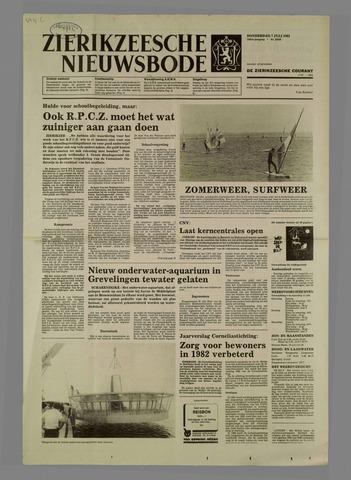Zierikzeesche Nieuwsbode 1983-07-07