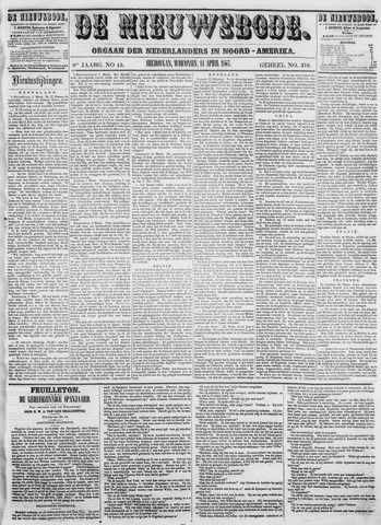 Sheboygan Nieuwsbode 1857-04-14