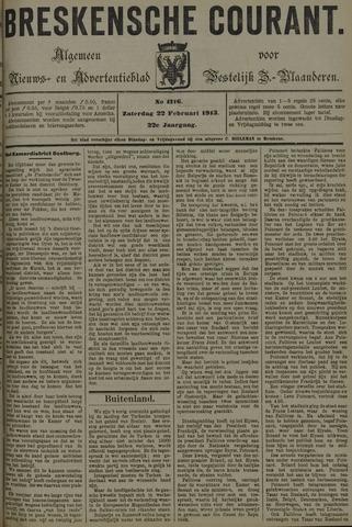 Breskensche Courant 1913-02-22