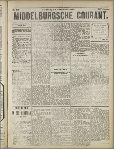 Middelburgsche Courant 1922-12-23