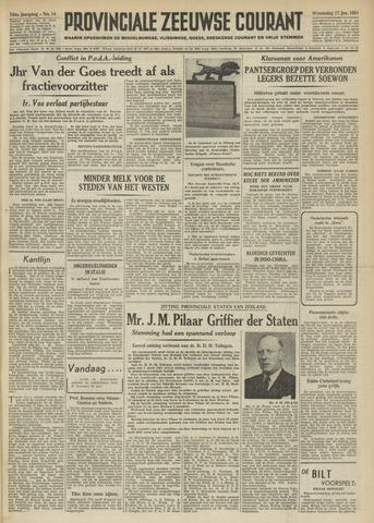 Provinciale Zeeuwse Courant 1951-01-17