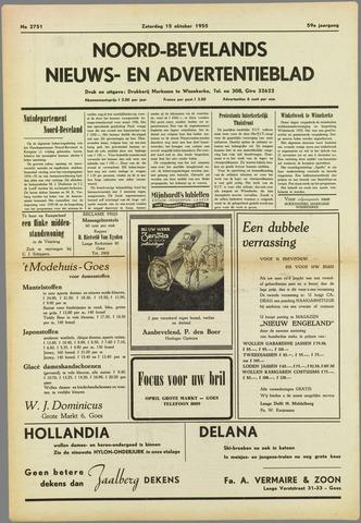 Noord-Bevelands Nieuws- en advertentieblad 1955-10-15
