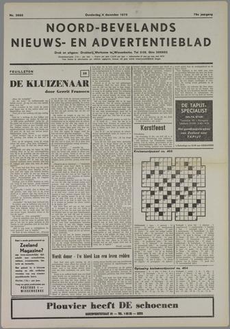 Noord-Bevelands Nieuws- en advertentieblad 1975-12-04