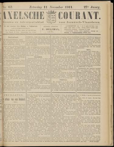 Axelsche Courant 1911-11-11