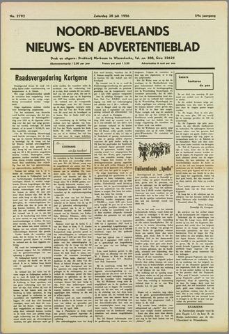 Noord-Bevelands Nieuws- en advertentieblad 1956-07-28
