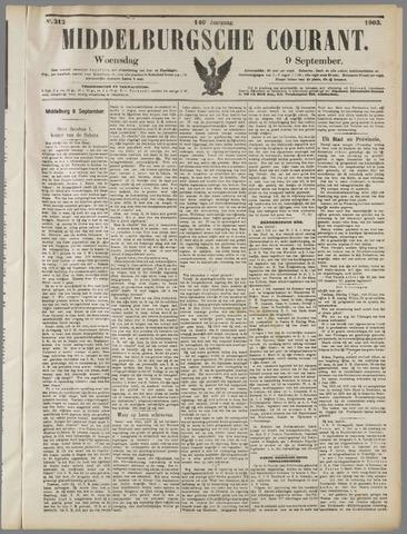 Middelburgsche Courant 1903-09-09
