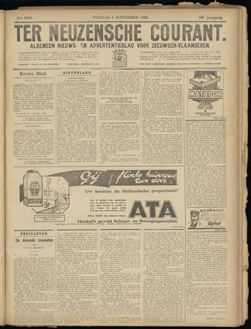 Ter Neuzensche Courant. Algemeen Nieuws- en Advertentieblad voor Zeeuwsch-Vlaanderen / Neuzensche Courant ... (idem) / (Algemeen) nieuws en advertentieblad voor Zeeuwsch-Vlaanderen 1929-11-08