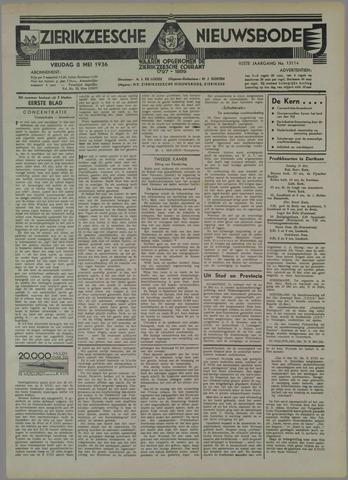 Zierikzeesche Nieuwsbode 1936-05-08