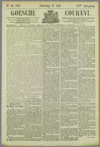 Goessche Courant 1915-07-31