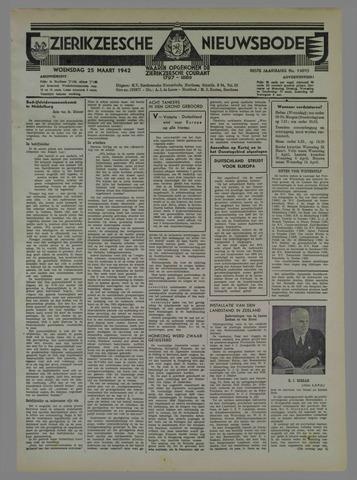 Zierikzeesche Nieuwsbode 1942-03-25