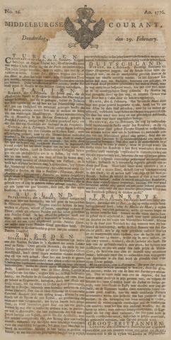 Middelburgsche Courant 1776-02-29