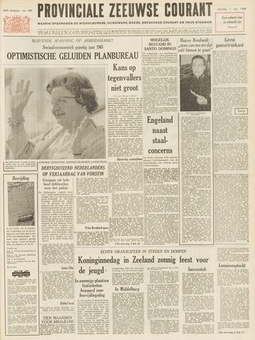 Provinciale Zeeuwse Courant 1965-05-01