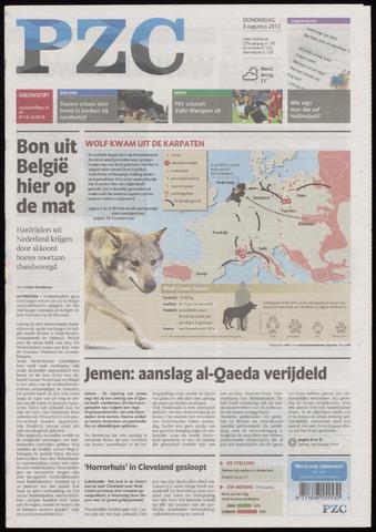 Provinciale Zeeuwse Courant 2013-08-08