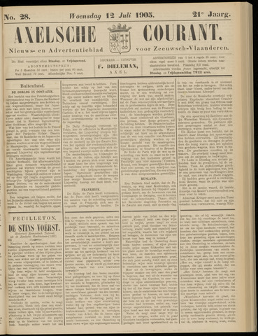 Axelsche Courant 1905-07-12