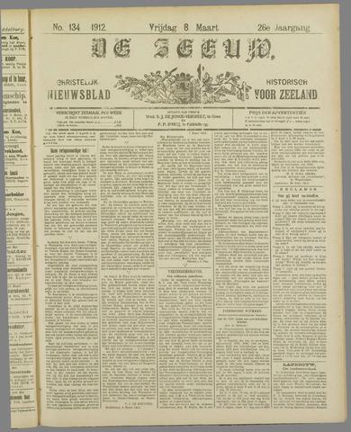 De Zeeuw. Christelijk-historisch nieuwsblad voor Zeeland 1912-03-08