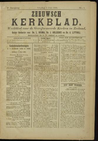 Zeeuwsche kerkbode, weekblad gewijd aan de belangen der gereformeerde kerken/ Zeeuwsch kerkblad 1903-07-03